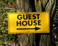 Guest House Sign